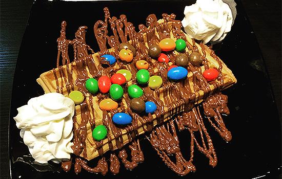 desserts basildon crepes milkshakes waffles Ice cream gelato
