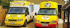 Ice cream van hire Basildon