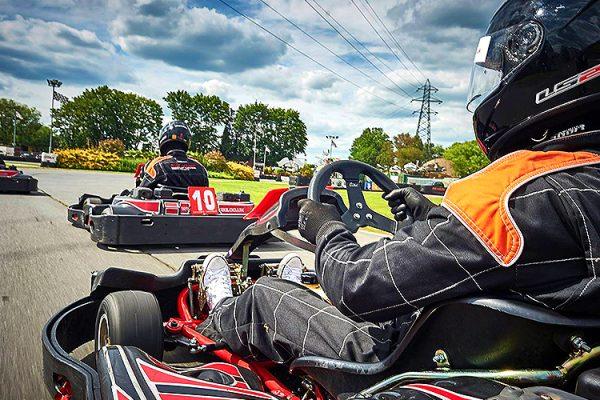 go karting laser tag adult racing Basildon