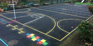 Just Markings Ltd Sports Ground Markings School Playground Markings Car Park Markings Kids Fun Southend Essex